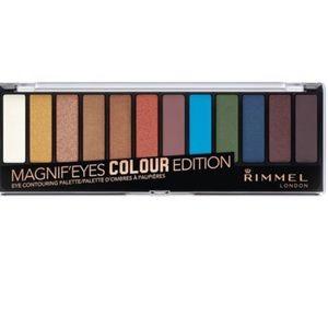 NEW Rimmel Eyeshadow Palette Colour Edition
